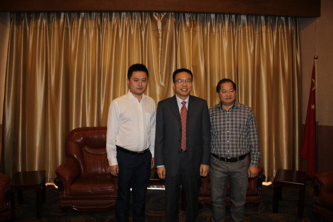 Chairman Fei Zhang and southwest Jiao tong university principal Xu, director of the national key traction laboratory Weihua Zhang confirmed the policy strategy for the center