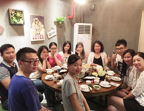 深圳贝斯特516全球最奢华达聚餐活动