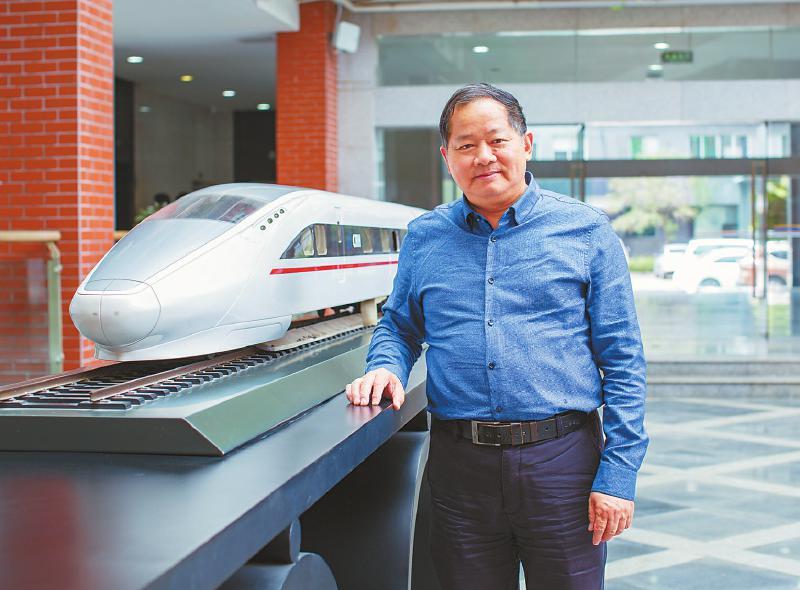 西南交通大学首席教授张卫华:把铁路机车车辆试验带入世界前列
